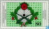 Postage Stamps - Germany, Federal Republic [DEU] - European shooter tournament