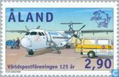 Timbres-poste - Åland [ALA] - 125 ans de l'UPU