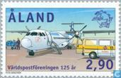 Postzegels - Aland [ALA] - 125 jaar UPU