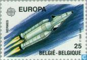 Postage Stamps - Belgium [BEL] - Europe – Aerospace
