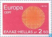 Postage Stamps - Greece - Europe – Braided Sun