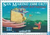 Timbres-poste - Saint-Marin - UNO