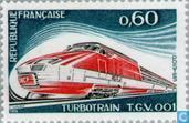 Timbres-poste - France [FRA] - Train à grande vitesse