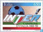 Postage Stamps - Italy [ITA] - Internazionale football champion