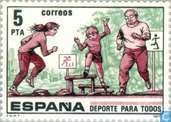 Postage Stamps - Spain [ESP] - Sport for All