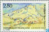 Postage Stamps - France [FRA] - Montain Sainte-Victoire