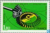 Postage Stamps - France [FRA] - Engineering School