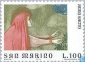 Postzegels - San Marino - Giotto