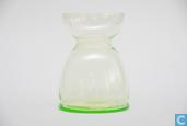 Glas / kristal - Kristalunie - Lisse Bollenglas vert-chine