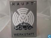 Emailleschilder - Logo : Volkswagen - Emaille Reklamebord : Volkswagen