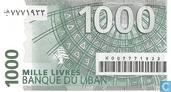 Banknoten  - Banque du Liban - Libanon 1000 Livres