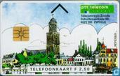 Telecomregio Zwolle (zwarte achterkant)