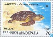 Postzegels - Griekenland - Bedreigde dieren