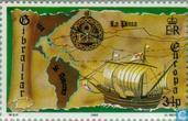 Briefmarken - Gibraltar - Europa – Entdeckung von Amerika