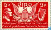 Postage Stamps - Ireland - U.S. Constitution 150 years