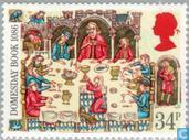 Postage Stamps - Great Britain [GBR] - Anniversary of the Domesday Book