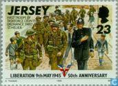 Briefmarken - Jersey - Liberation 50 Jahre
