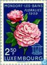 Postzegels - Luxemburg - Bloemenfeest Mondorf