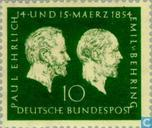 Postage Stamps - Germany, Federal Republic [DEU] - Ehrlich, Paul & Behring, Emil
