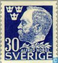 Timbres-poste - Suède [SWE] - Alfred Nobel