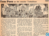 Comic Books - Bumble and Tom Puss - Tom Poes en het monster Trotteldrom