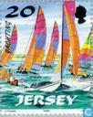 Postage Stamps - Jersey - Sailing