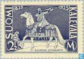Postage Stamps - Finland - 2.50 centenary of the national epic Kalevala