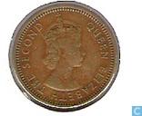 Münzen - Hongkong - Hongkong 5 Cent 1963