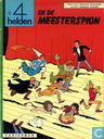 Strips - 4 Helden, De - De 4 helden en de meesterspion
