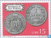 Postage Stamps - San Marino - Coins