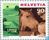 Postage Stamps - Switzerland [CHE] - Tourism