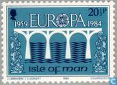 Postage Stamps - Man - Europe – Bridge