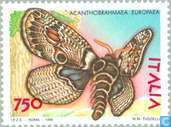 Postage Stamps - Italy [ITA] - Butterflies