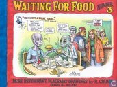 Comic Books - Waiting for food - More Restaurant Placemat Drawings