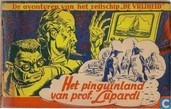 Comic Books - Kapitein Rob - Het pinguïnland van prof. Lupardi
