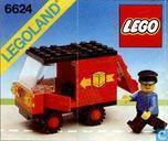 Speelgoed - Lego - Lego 6624 Delivery Van