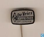De Vries Koffie-Thee Amsterdam ( zwart )