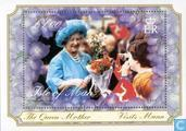 Timbres-poste - Man - Queen Mother- 100e verjaardag
