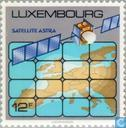 Timbres-poste - Luxembourg - satellite Astra