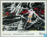 Postage Stamps - France [FRA] - Painting Jean Dubuffet
