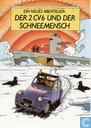 Comic Books - Tintin - Der 2CV6 und der Schneemensch