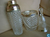 Glas / kristal - Shakers-set - blei kristal