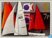 Postage Stamps - Great Britain [GBR] - Sailing