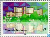 Postzegels - Verenigde Naties - Wenen - Internationaal centrum