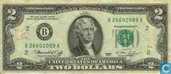 Billets de banque - Federal Reserve Note - E.U. Dollars 2 1976