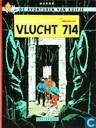 Bandes dessinées - Tintin - Vlucht 714