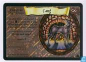 Trading cards - Harry Potter 4) Adventures at Hogwarts - Fang