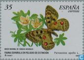 Postzegels - Spanje [ESP] - Vlinders