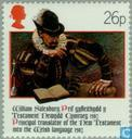 Postage Stamps - Great Britain [GBR] - Bible Wales 400 years