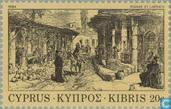 Postage Stamps - Cyprus [CYP] - 19th Century Etchings